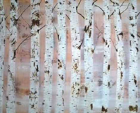 Rustic Trees - Acrylics