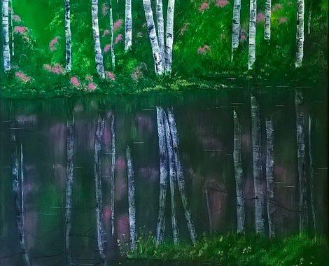 Reflections - Acrylics